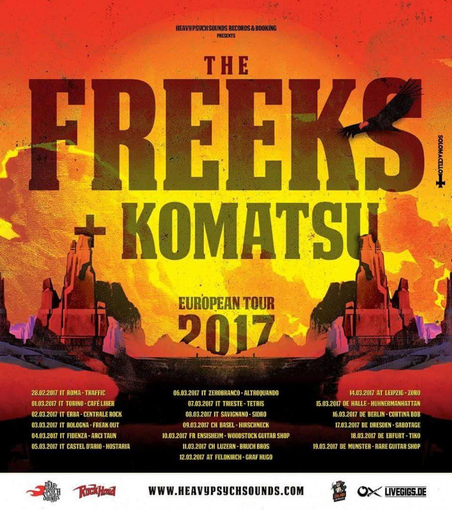 Freeks + komatsu