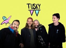 Nieuwe punkrockband met leden John Coffey: Tusky