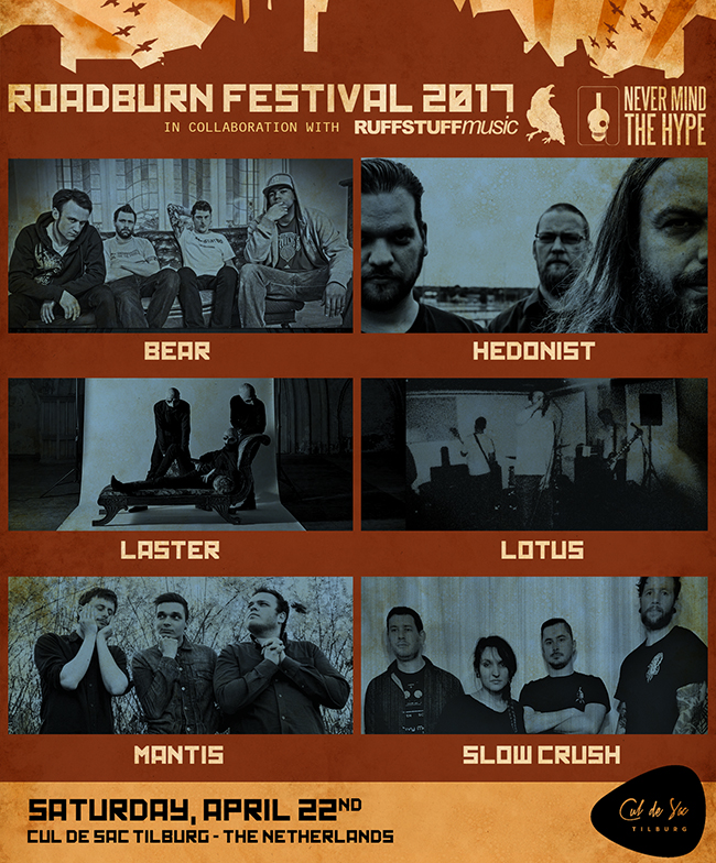 Saturday cul de sac Roadburn 2017