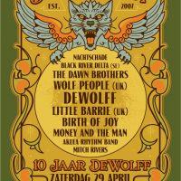 NMTH tipt DeWolffest: jarige DeWolff nodigt oa Little Barrie, Birth Of Joy, The Grand East, Wolf People uit