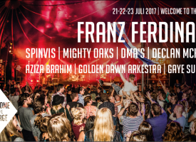 Franz Ferdinand headlinet Welcome to The Village, ook DMA's en Golden Dawn Arkestra komen