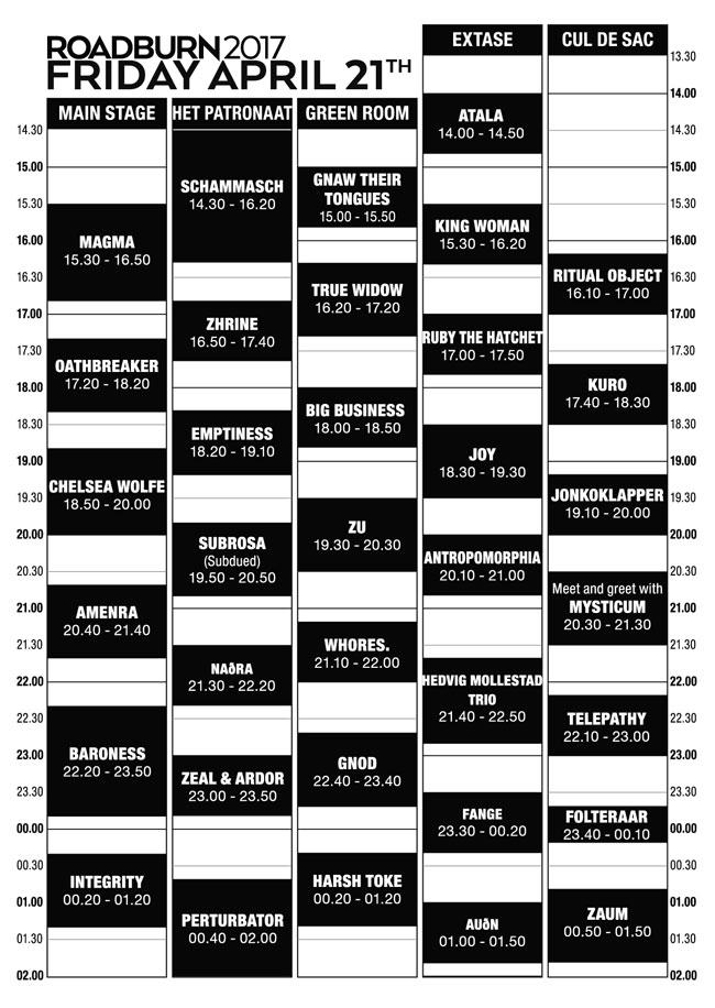 Roadburn-2017-schedule-21-F