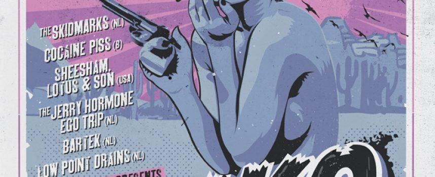 Fuzzy, noisy alert: Meatbodies en Girl Band headlinen Kliko Fest