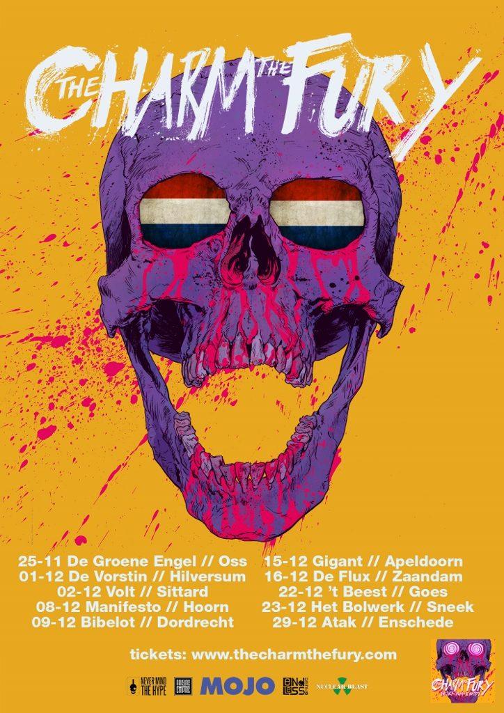 PosterDesign NL tour2 The Charm The Fury