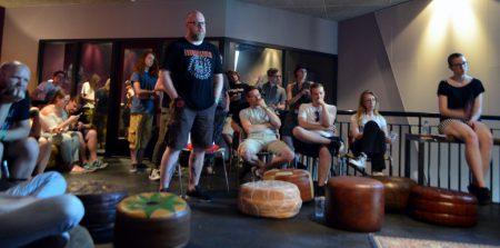Q&A met Metal Mike, foto Ingmar Griffioen