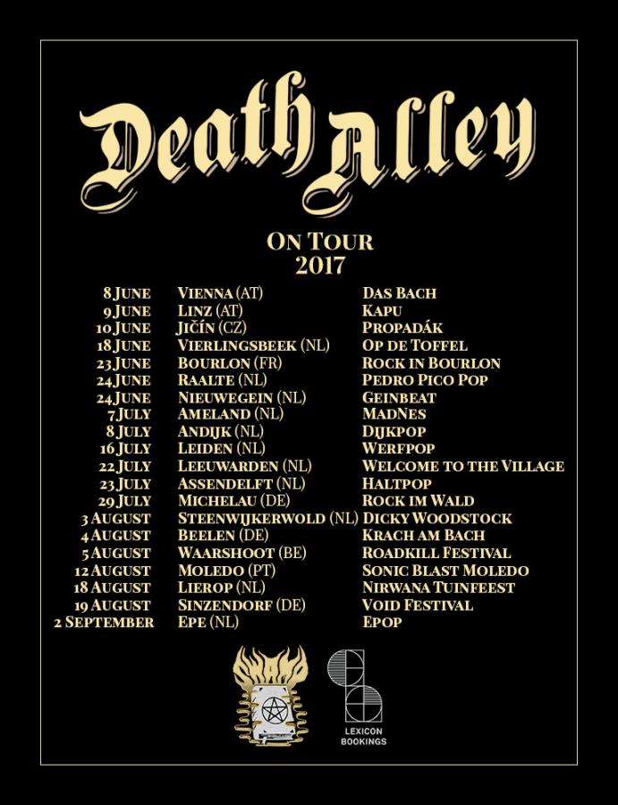Death Alley tour