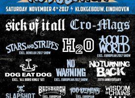 Dog Eat Dog, Backtrack, 100 Demons, Bishops Green completeren line-up The Sound Of Revolution 2017