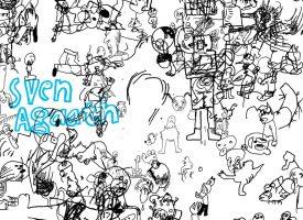 Sven Agaath serveert sci-fi noisegrunge op Not Another Festival