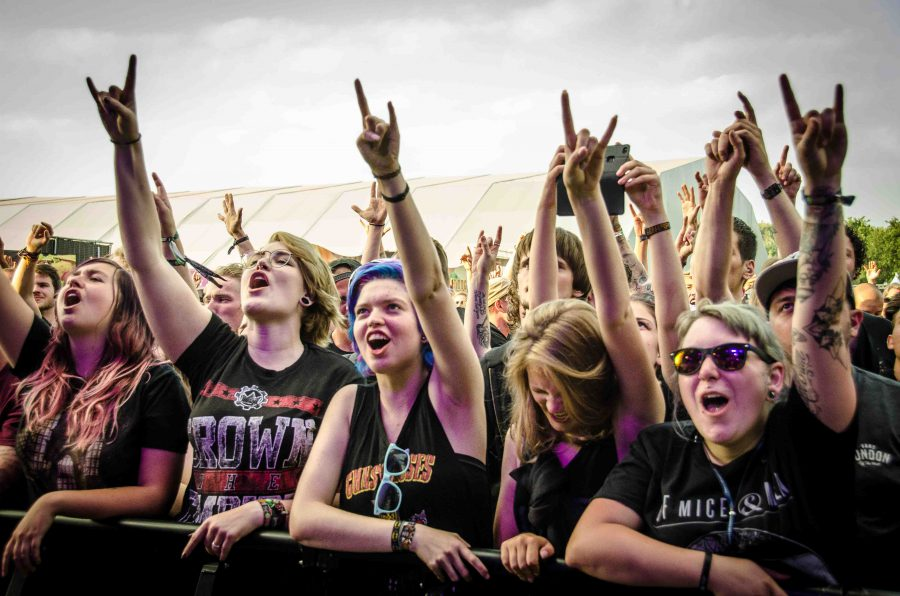 Of Mice And Men op Graspop, foto Sandra Grootenboer