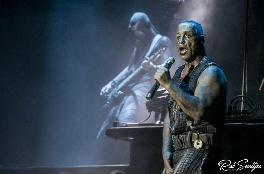 Rammstein op Graspop, foto Rob Sneltjes