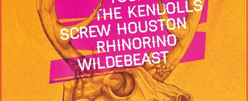 Festivaltip: Beastfest II haalt Tusky, The Kendolls , Screw Houston en Rhinorino naar Stadstuin