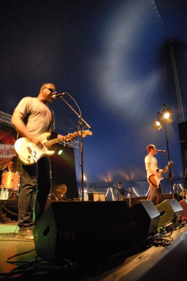 The Gories op Sjock Festival, foto Timothy Aarbodem