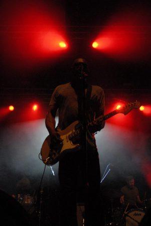 Dirtbombs op Sjock Festival, foto Timothy Aarbodem