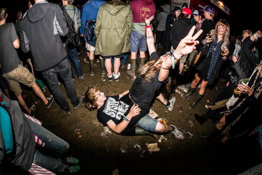 Rock Werchter zaterdag, foto Rick de Visser