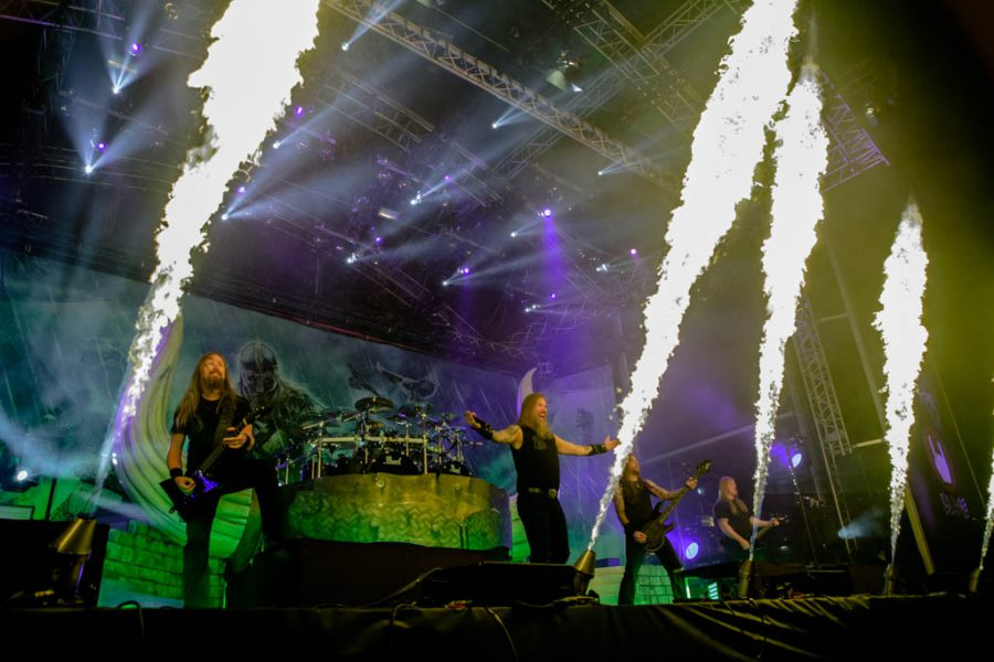 Amon Amarth op Into The Grave 2017, foto Rob Sneltjes