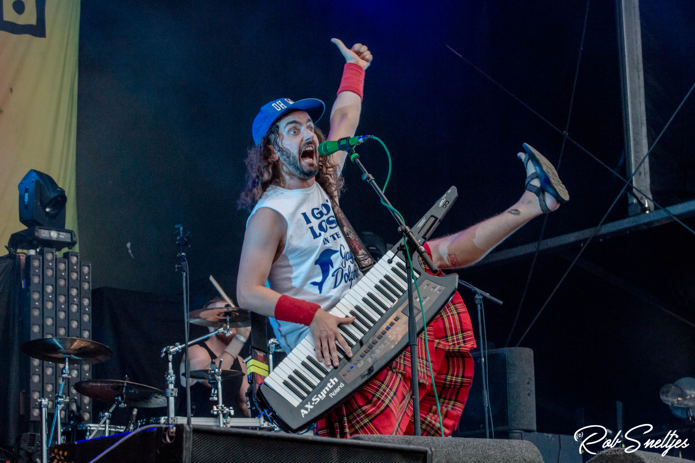 Alestorm op Into The Grave 2017, foto Rob Sneltjes