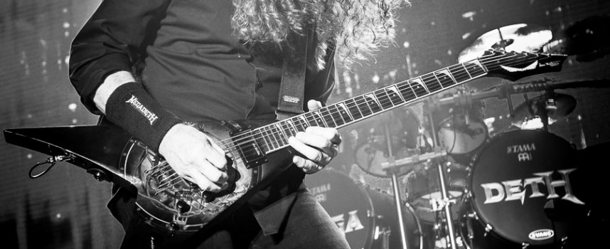 Megadeth doet het op routine en heel veel hits in 013