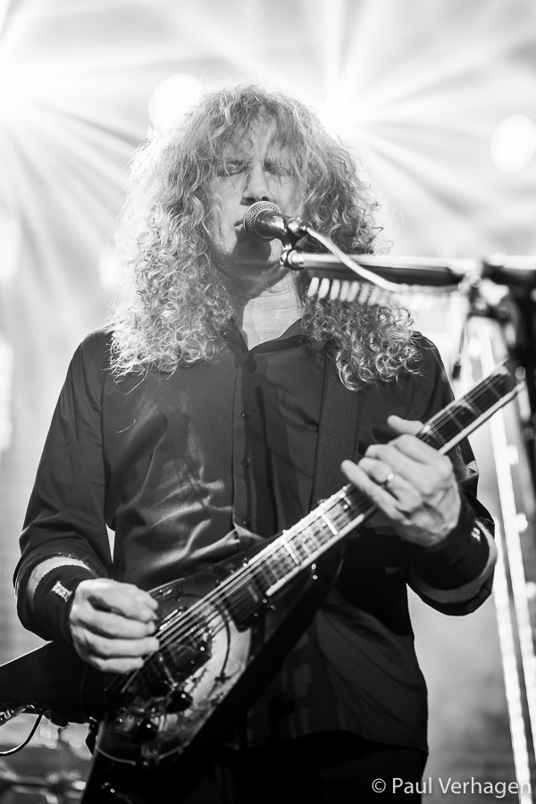 Megadeth in 013, foto Paul Verhagen