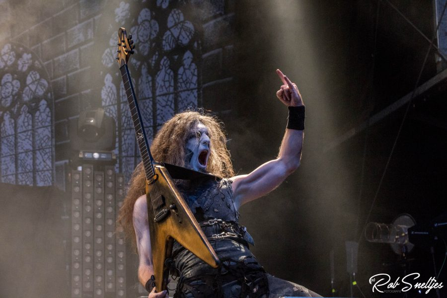 Powerwolf op Into The Grave 2017, foto Rob Sneltjes