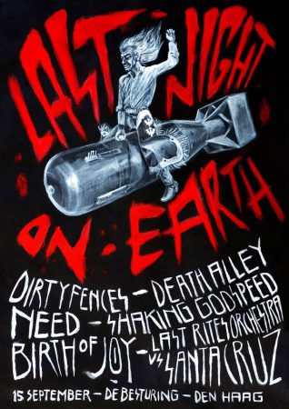 poster Last Night On Earth