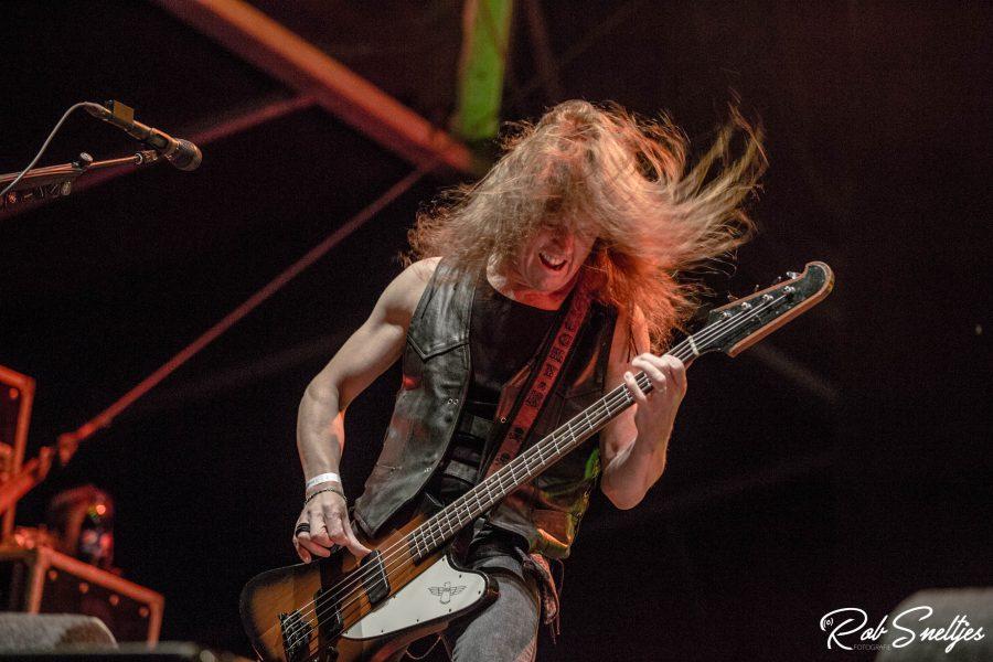 Saxon op Into The Grave 2017, foto Rob Sneltjes