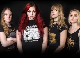 "Eerbetoon Sisters of Suffocation in Little Devil: ""Deze is voor Bidi"""