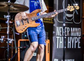 In 1 Beeld: Tony Clifton in het Bluescafé op Popronde Apeldoorn
