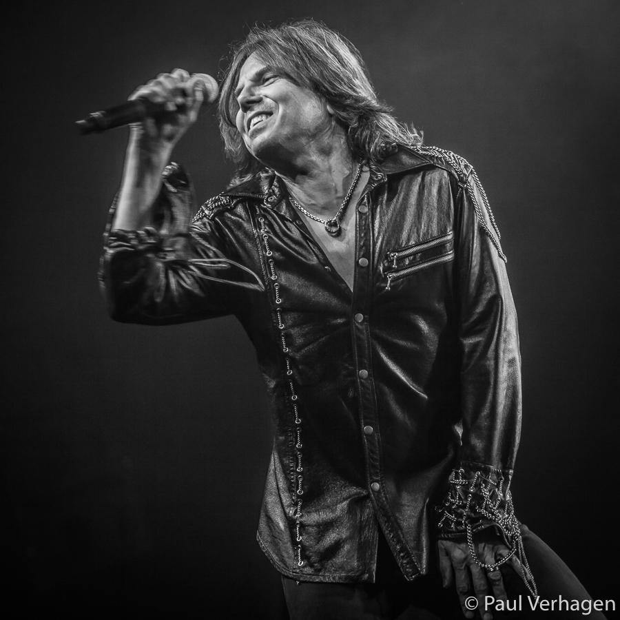 Joey Tempest van Europe op Cityrock Eindhoven, foto Paul Verhagen