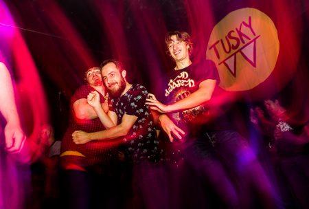 Tusky-fans op Popronde Eindhoven, foto Rick de Visser