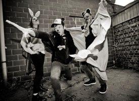 Belgische granaatpoppers The Very Very Danger op tour met Paceshifters