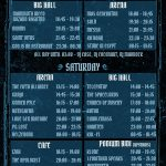 Into the Void timetable