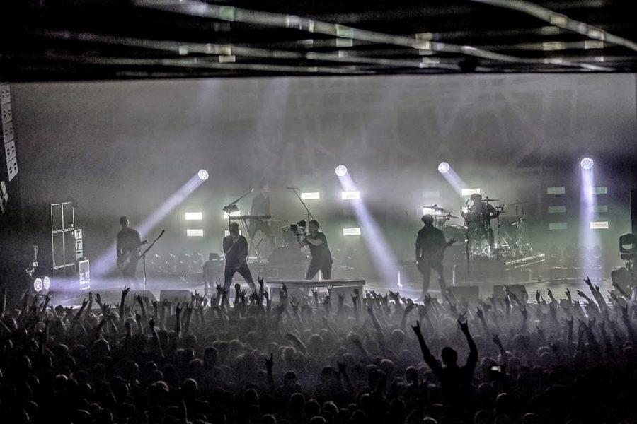 Papa Roach in 013, foto Rob Sneltjes
