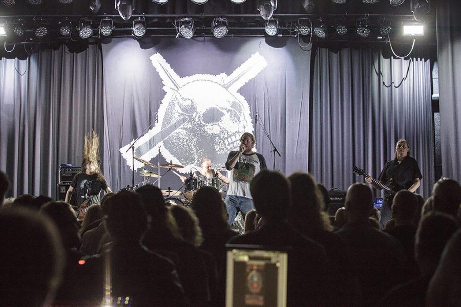 Candlemass op Into The Void, foto Oscar Anjewierden