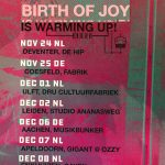warming up TOUR Birth Of Joy