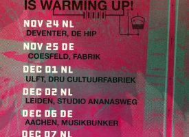 Dikke, NMTH supported 'warming up' najaarstour voor Birth Of Joy