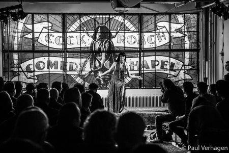 Cock Roach Comedy Chapel op Helldorado, foto Paul Verhagen