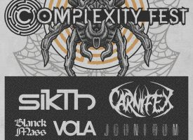 Blanck Mass, Employed to Serve, VOLA e.a. naar Complexity Fest 2018