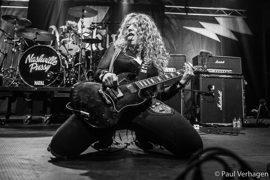Nashville Pussy op Helldorado, foto Paul Verhagen