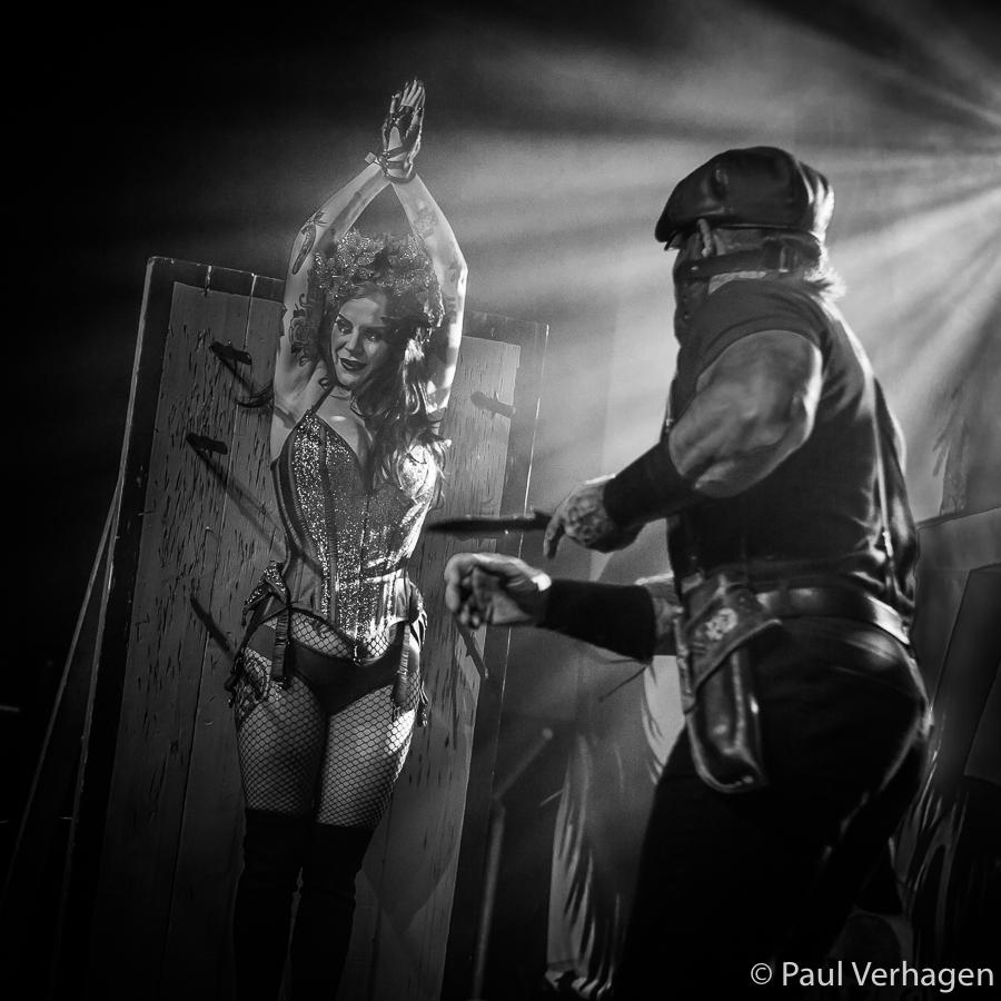 The Death do Us Part Dangershow op Helldorado, foto Paul Verhagen