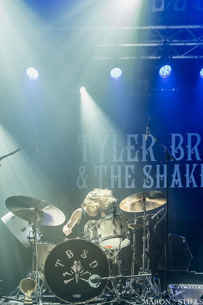 Tyler Bryant & The Shakedown in de Helling, foto: Maron Stills