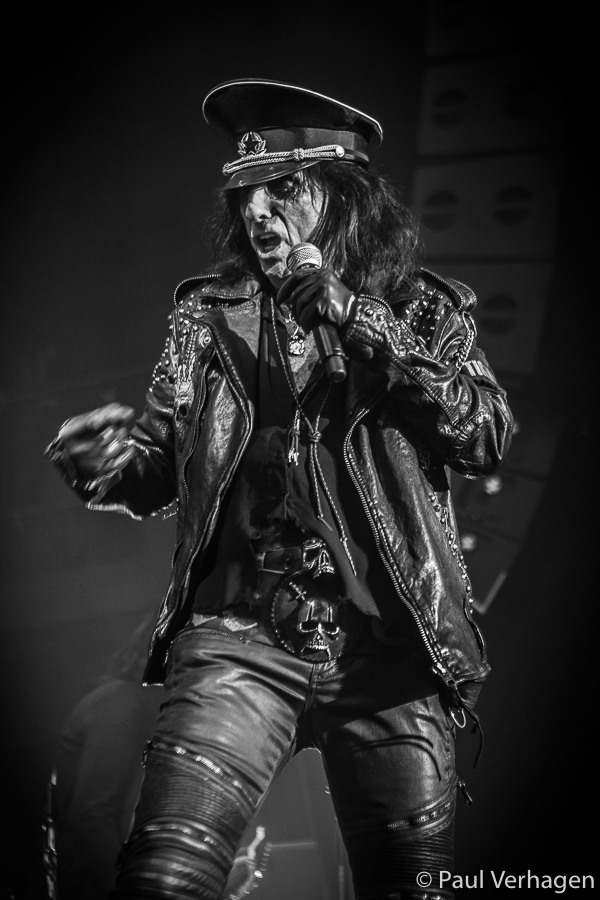 Alice Cooper in 013, foto Paul Verhagen