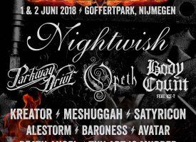 Opeth, Baroness en Death Alley naar FortaRock 2018