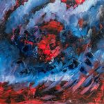 Verval - Wederkeer (Oil on canvas, Jeff Grimal, 2016)