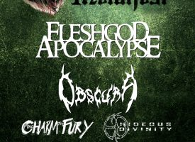 Line-up Amsterdam Metalfest IV met Fleshgod Apocalypse, Obscura, The Charm The Fury