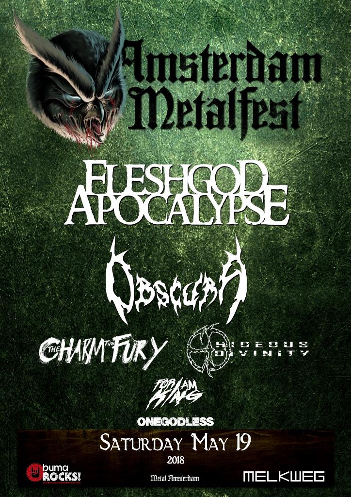 Amsterdam Metalfest 18