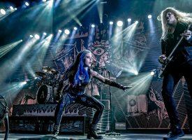 Girl power, gitaarsolo's en grunts: metalmarathon in 013 met Arch Enemy, Tribulation, Wintersun en Jinjer