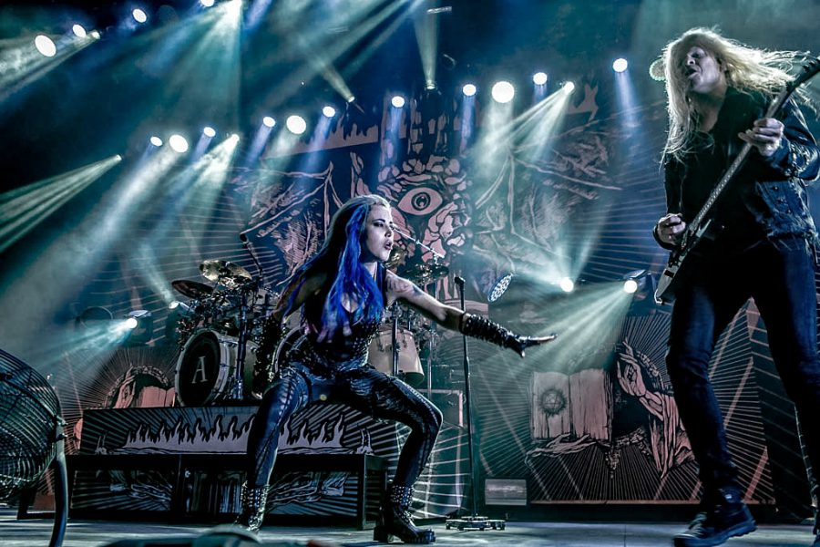 Arch Enemy in 013, foto Rob Sneltjes