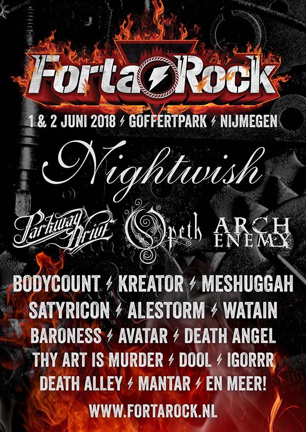 FortaRock 2018 Announce #5 NL