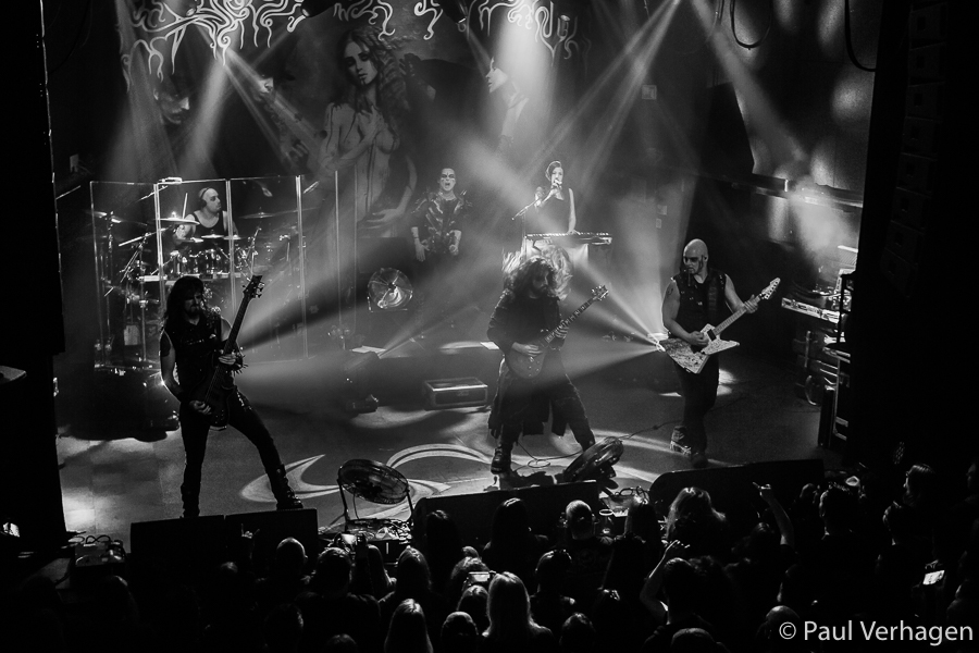 Cradle Of Filth in 013, foto Paul Verhagen