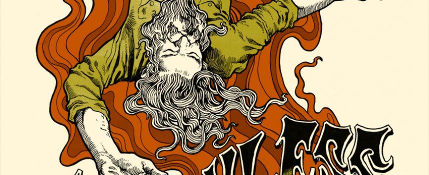 Gitarist Isaiah Mitchell over Earthless, artist in residency op Roadburn, Golden Void, Damo Suzuki en Japanse psych